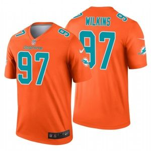 Christian Wilkins Miami Dolphins football Jersey